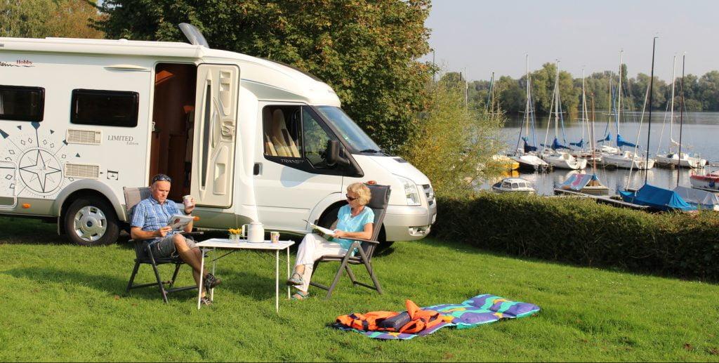 camper et stationner en France