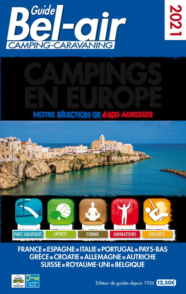 guide campings en Europe